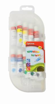 Tempera barvice Optima 10X10ML 3013