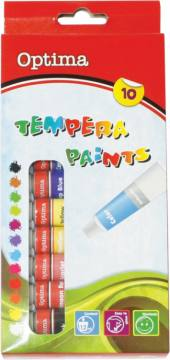 Tempera barvice Optima 10X12ML 3015