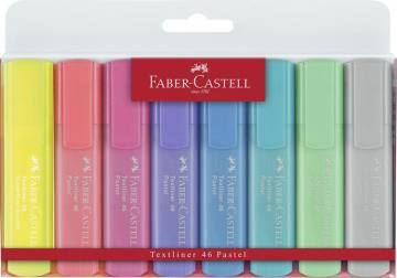 Marker Faber-Castell Pastel 6/1 + 2 neon 4089