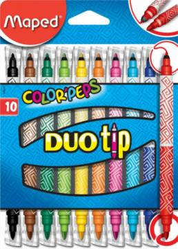 FLOMASTRI MAPED COLOR'PEPS DUO TIP 10/1 4389