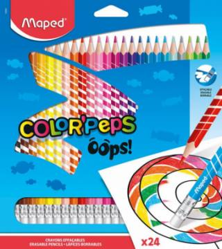 BARV. MAPED COLOR'PEPS OOPS 24/1 KARTON 4422