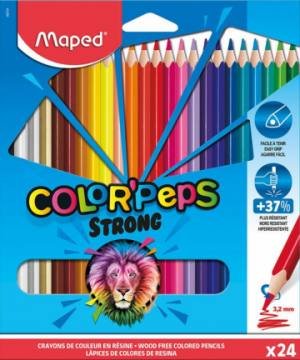 BARV. MAPED COLOR'PEPS STRONG 24/1 KART. 4424