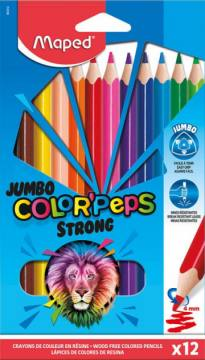 BARV. MAPED COLOR'PEPS STRONG JUMBO12/1 4425