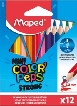 BARV. MAPED COLOR'PEPS STRONG MINI 12/1 4426