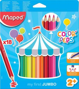 BARV. MAPED COLOR'PEPS MAXI 3ROBE 18/1 4512