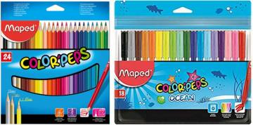BARV. MAPED COLOR'PEPS 24/1+FLOM.GRATI 4514